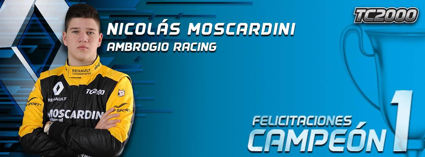 TC2000 Moscardini Campeón