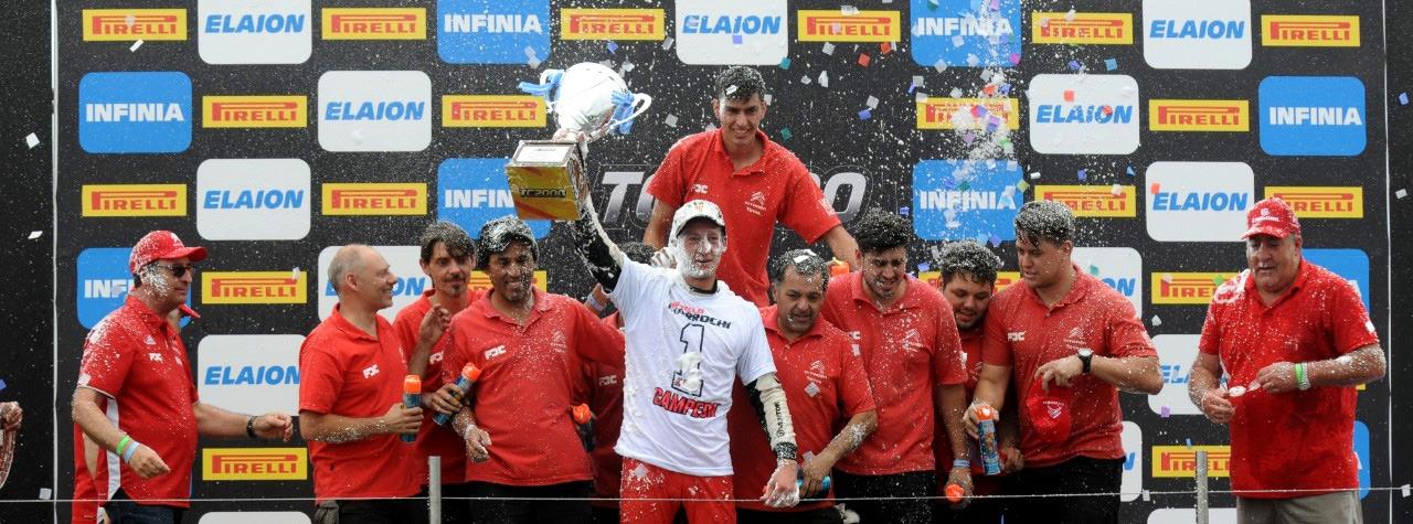 Marcelo Ciarrocchi Campeón Argentino TC2000 2018