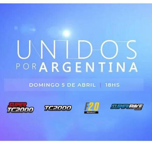 El TC2000 tendrá presencia en ''Unidos por Argentina''