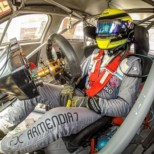 Aramendia fue el primer piloto del TC2000 en volver a salir a pista