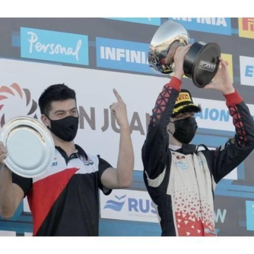 Montenegro festejó por primera vez en el Sprint de San Juan
