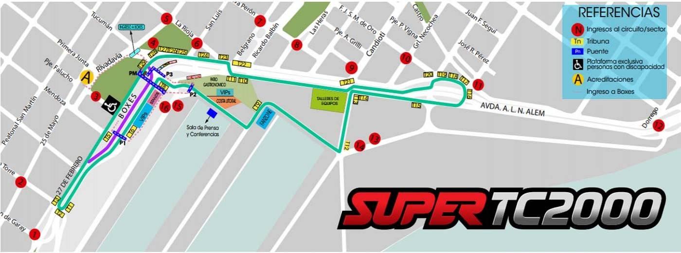 Circuito Callejero Santa Fe 2018 : Super tc